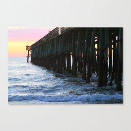 Flagler Pier Canvas Print