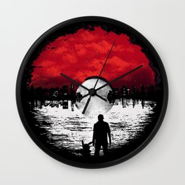 The Trainer Wall Clock