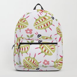 Green Beetles With Wooden Legs Backpack