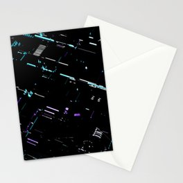 Engineering Technology Industry Background for Electronic Pattern Stationery Cards