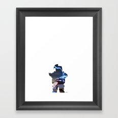 Stay Puft... Never Cross Streams Framed Art Print