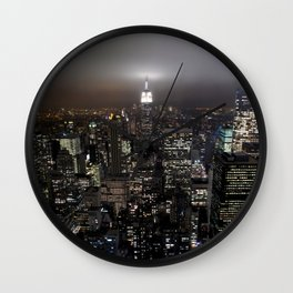 New York Souvenir Wall Clock