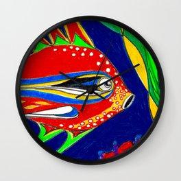 Fantasy Fish Wall Clock
