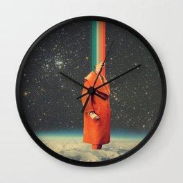 Spacecolor Rainbow Wall Clock