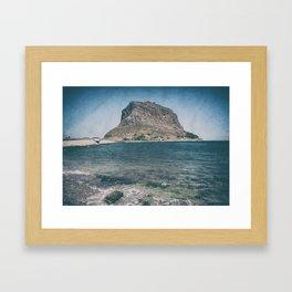 Monemvasia Framed Art Print