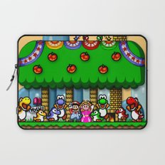 Super Mario World Happy Ending Laptop Sleeve