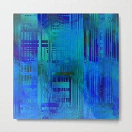 SchematicPrismatic 01 Metal Print