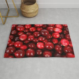 Cranberry pattern Rug