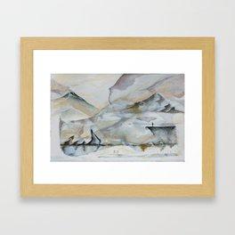 Untitled Landscape  Framed Art Print