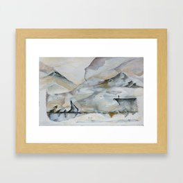 Untitled Landscape  Framed Art Print