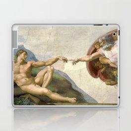 Michelangelo - Creation of Adam Laptop & iPad Skin