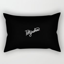 Partysahne   [black & white] Rectangular Pillow