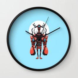 Pixel Lobster Droid Wall Clock