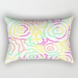 Floral Summer Rectangular Pillow