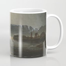 Peder Balke - Nordkapp - North Cape - Norwegian Oil Painting Coffee Mug