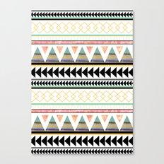 Aztec 3 Canvas Print