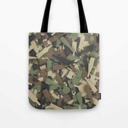 Forest alcohol camouflage Tote Bag
