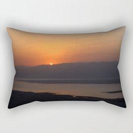 Masada Sunrise Rectangular Pillow