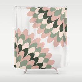 Dahlia at Office Shower Curtain