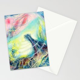 Getting Back To Where I've Never Been (Coeurd'aleuer) Stationery Cards
