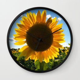 Sunflower Wall Clock