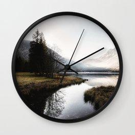 Mountain river 2 Wall Clock