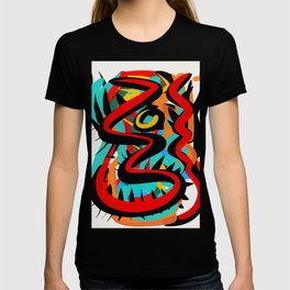 Primitive Abstract Art Street Style T-shirt