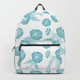 Peony Pattern Island Paradise Backpack
