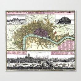 London-England-1740 Canvas Print