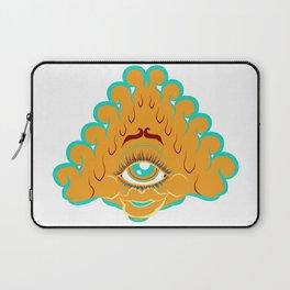 All Seeing Eye Gal Laptop Sleeve