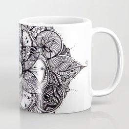 Mandala eye Coffee Mug
