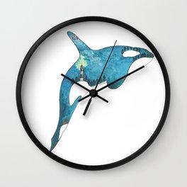 Magical Orca Wall Clock
