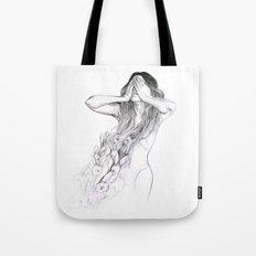 Rabbit Ghost Tote Bag