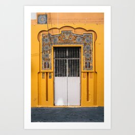 Puerta Puerto Rico Art Print