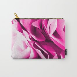 Posh Pink Peony Carry-All Pouch