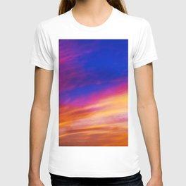 rainbow clouds T-shirt