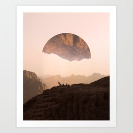 Wanderers Still Art Print