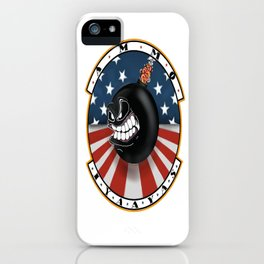 Ammo Bomb Cartoon iPhone Case