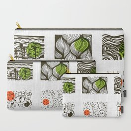 four seasons 2018 calendar Carry-All Pouch