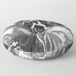 Melt - Asphalt Floor Pillow