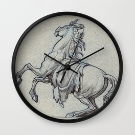 Horse, Marly court, Louvre Wall Clock