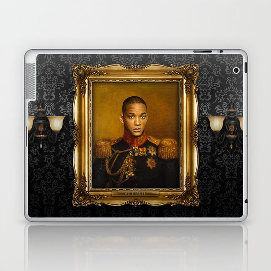 Will Smith - replaceface Laptop & iPad Skin