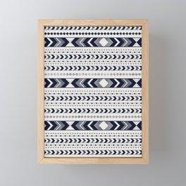 Tribal Arrow Boho Pattern #3 #aztec #decor #art #society6 Framed Mini Art Print