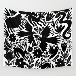 Nursery rhyme garden 001 Wall Tapestry