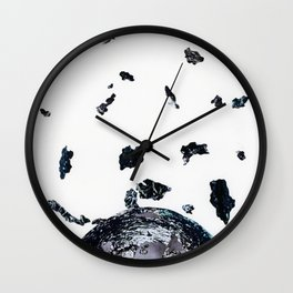 Planet formation Wall Clock