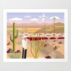 Scottsdale 101 Art Print