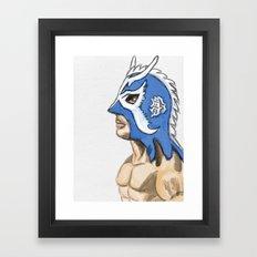 Ultimo Dragon Framed Art Print