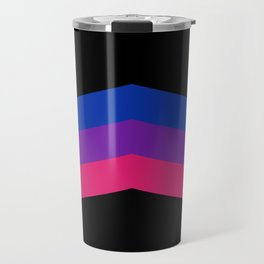 Bisexual and Biromantic Travel Mug