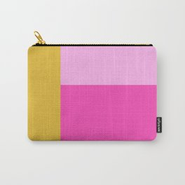 Geometric Bauhaus Style Color Block in Bright Colors Carry-All Pouch