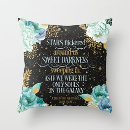 A Court of Frost and Starlight - Sarah J Maas Throw Pillow
